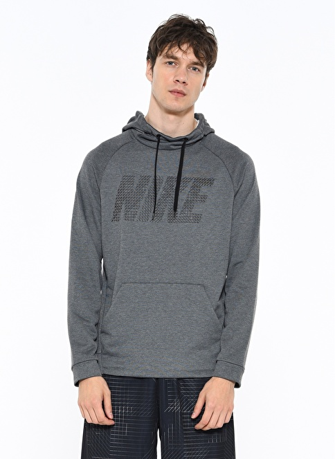 Nike Kapşonlu Sweatshirt Siyah
